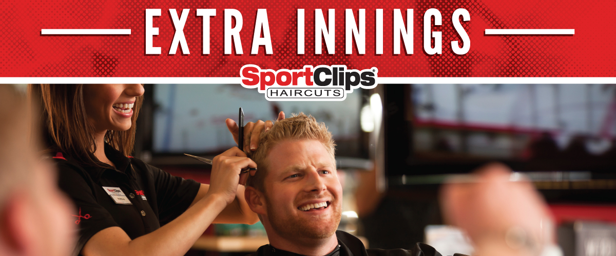 The Sport Clips Haircuts of Lake Wylie Extra Innings Offerings
