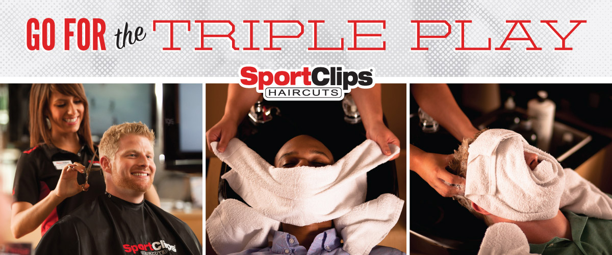 The Sport Clips Haircuts of Lake Wylie Triple Play